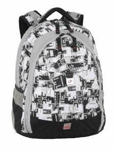 Studentský batoh DIGITAL 03 A šedý