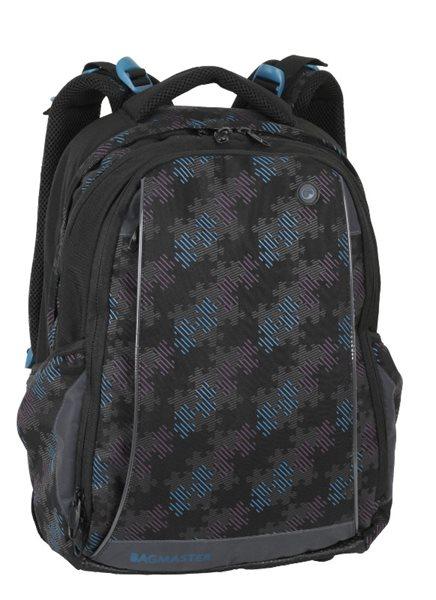 Škoní batoh MEADOW 02 A - modro-černý, Sleva 35%