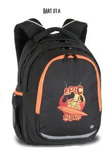 Školní batoh BART 01 A - černá