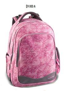 Školní batoh EV 003 A - růžová
