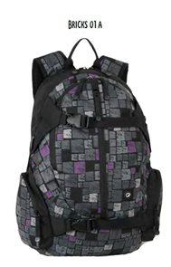 Studentský batoh BRICKS 01 A - šedá