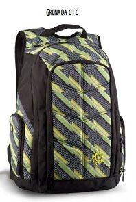 Studentský batoh GRENADA 01 C - zelená