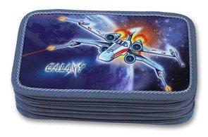 Školní penál Emipo - Galaxy - třípatrový