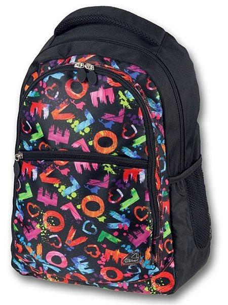 Studentský batoh - Classic Multicolor