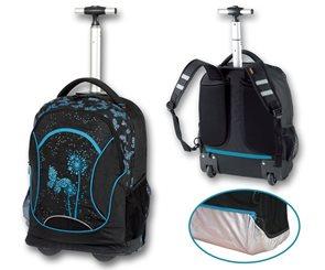 Studentský batoh na kolečkách - Paradise modrá