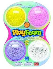 PlayFoam Boule 4-pack - žlutá, růžová, fialová, bílá