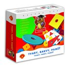Tvary, barvy a paměť - dětská hra na postřeh a paměť od 5 let