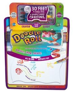 Doodle Roll - kreativní sada s pastelkami