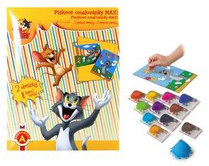 Pískové omalovánky MAXI - Tom a Jerry/ 2 obrázky