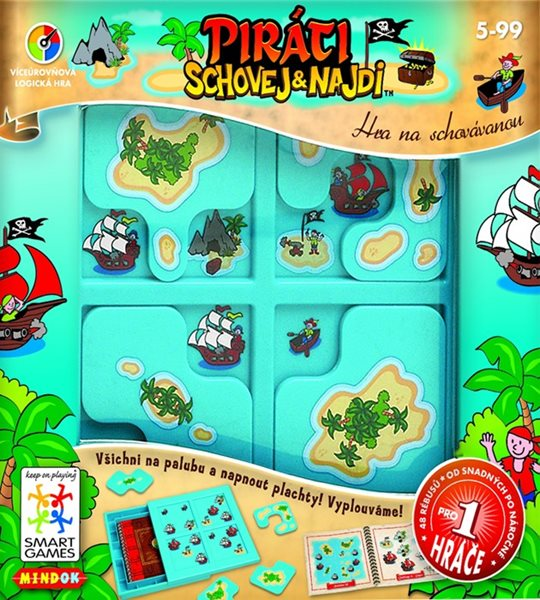 SMART hra - Piráti: Schovej a najdi