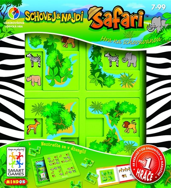 SMART hra - Safari: Schovej a najdi