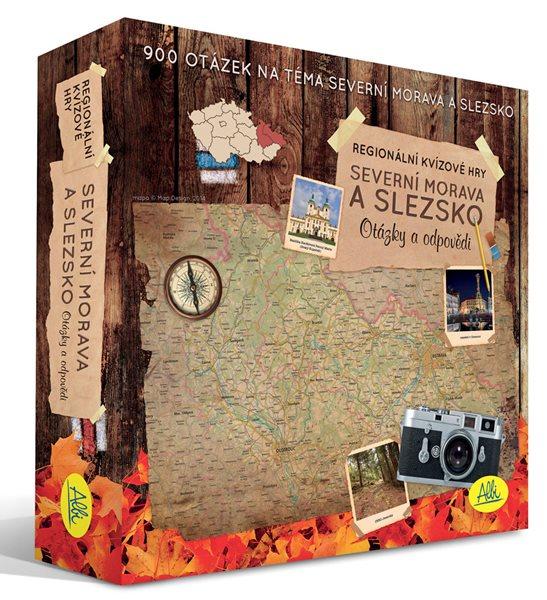 Severní Morava a Slezko - regionální kvízová hra - otázky a odpovědi - Albi