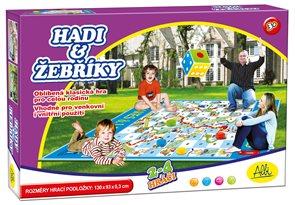 Hadi a žebříky - venkovní hra