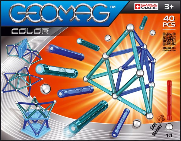 Geomag Color 40 ks, 3+