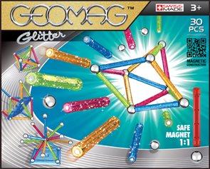 Geomag Glitter 30 ks, 3+