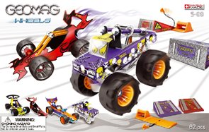 Geomag Wheels Race large