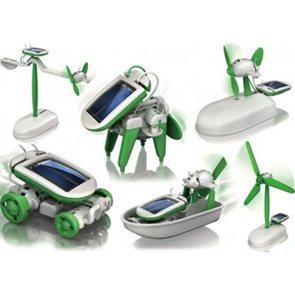 Solární robot 6 v 1