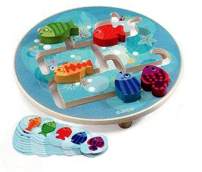 Labyrint Akvárium - 10 karet + 5 rybiček