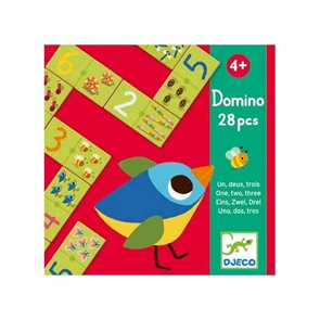 Domino - Veselé počítání - jedna, dvě, tři 28 ks