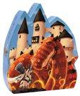 Puzzle Rytíř a ohnivý drak - 54 ks