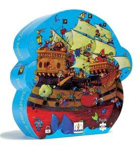 Puzzle Pirátská loď - 54 ks