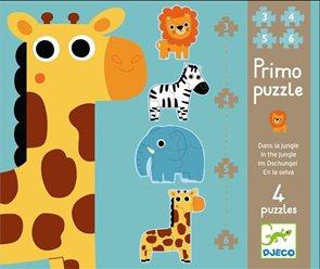 Puzzle Primo - V džungli 3,4,5,6