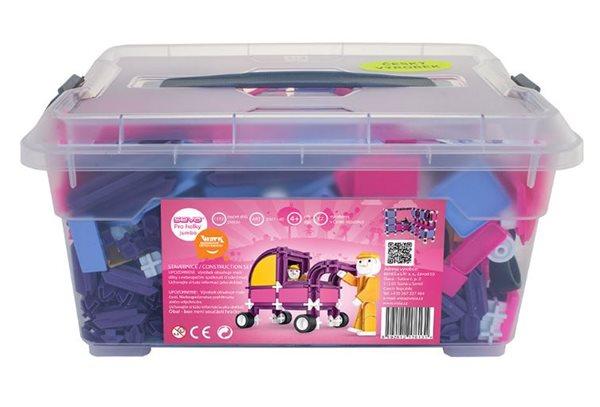 Stavebnice SEVA pro holky 1 Jumbo - box