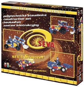 Stavebnice SEVA Stavitel /306 dílů/