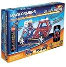 Magformers - XL Cruiser Záchranáři (28 dílů - 11 čtverců, 6 trojúhel., 3 lichoběžníky, 2 obdélníky,