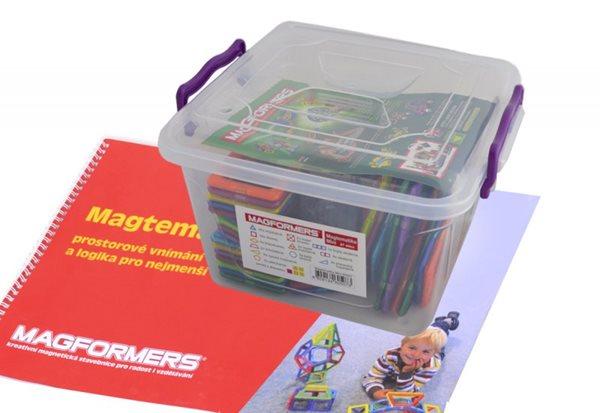 Matematika: nový box + hravá učebnice Magformers, Doprava zdarma