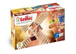 Stavebnice Teifoc 4040 Větrný mlýn