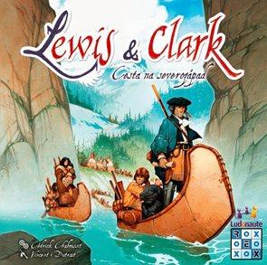 Lewis&Clark> Cesta na severozápad - společenská hra