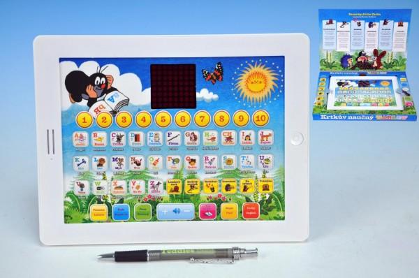 Tablet pro nejmenší - Učíme se s Krtkem - 24,1× 18,7× 1,8 cm