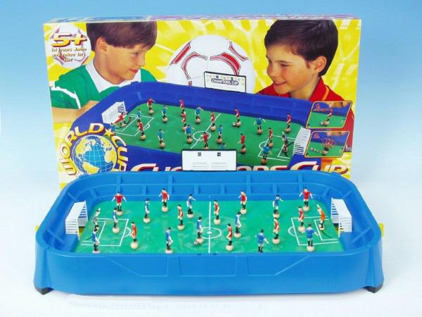 Fotbal Champion stolní společenská hra v plastové krabici - 63× 36× 9 cm