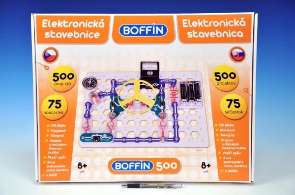 Elektronická stavebnice Boffin 500, Doprava zdarma