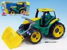 Traktor se lžící plastový zeleno-žlutý 65 cm