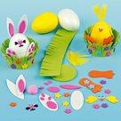 Velikonoční vajíčka k dotvoření - pěnová 2 ks