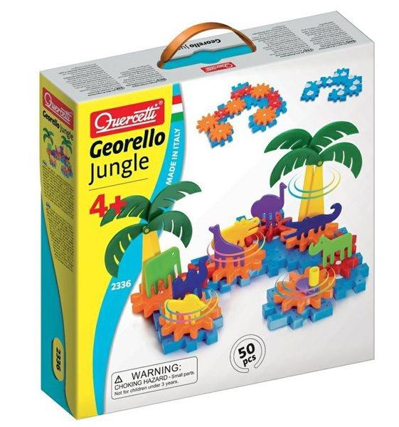 Stavebnice převodová Georello Jungle 50 dílů, věk 4+