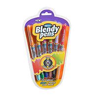 Sada míchacích fixů Blendypens - 12 barev