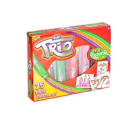 Trojbarevné fixy TRIO - Starter set