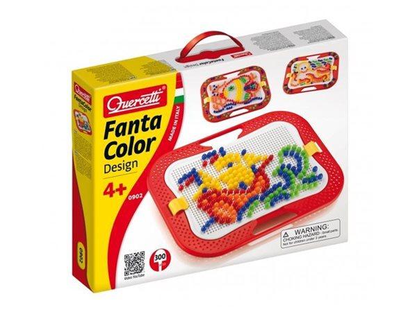 Mozaika - Fantacolor Design - průměr dílku - 10 mm (300ks)