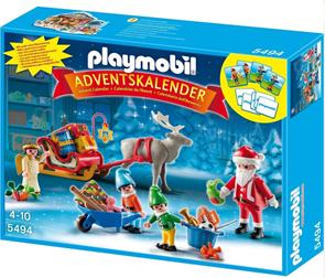 Adventní kalendář - Balení dárků - Playmobil