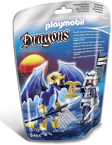 Ledový drak s válečníkem - Playmobil