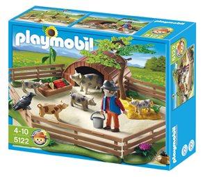 Prasátka v ohradě - Playmobil