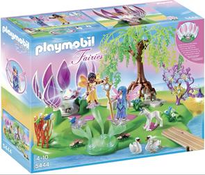 Kouzelný ostrov a fontána s drahokamy - Playmobil