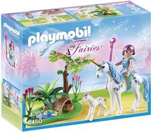 Víla Aquarella na louce Jednorožce - Playmobil