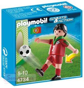 Fotbalista Portugalska - Playmobil