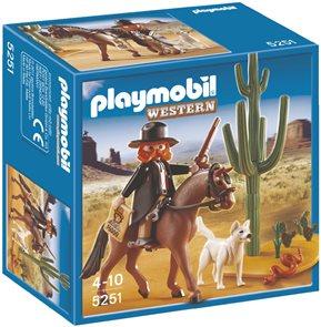Šerif s koněm -  Playmobil