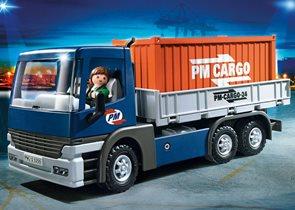 Nákladní auto s kontejnerem - Playmobil - novinka 2013