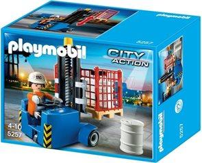 Vysokozdvižný vozík - Playmobil - novinka 2013